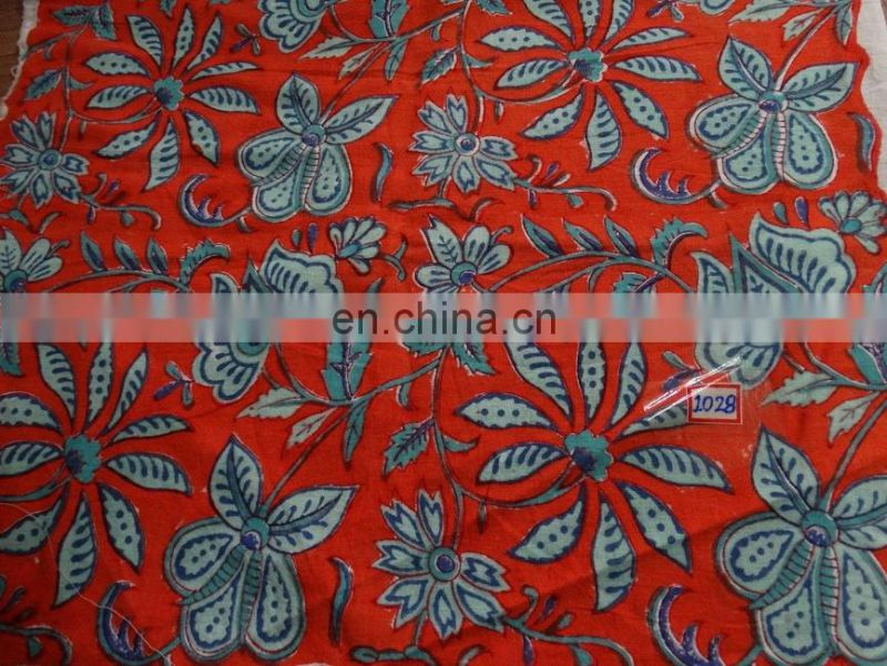 Vishal Handicraft-50 Yards Exclusive Sanganeri Hot Block Print Cotton Fabric/Indian Jaipuri Hand Block print cotton fabric