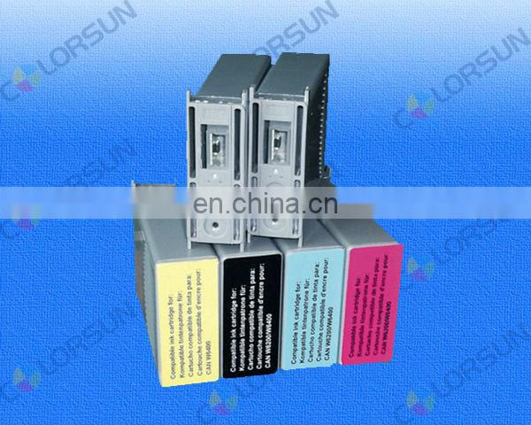 refillable ink cartridge for Canon w6400/w6200