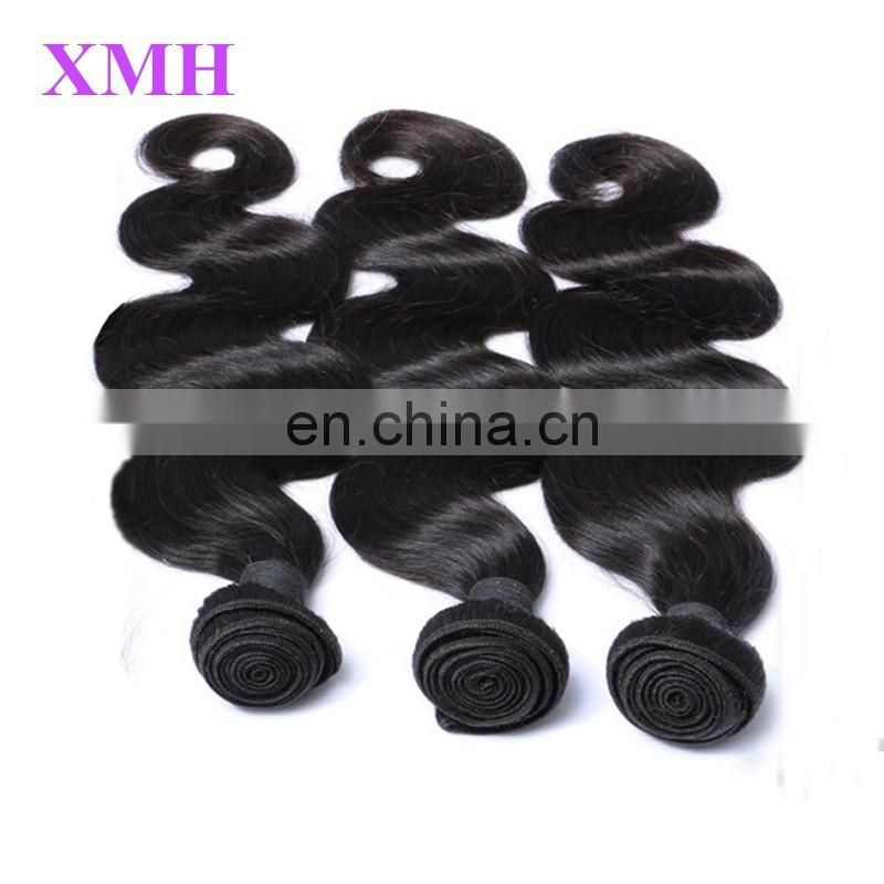 Large stock No tangle no shedding human hair extensions for black women