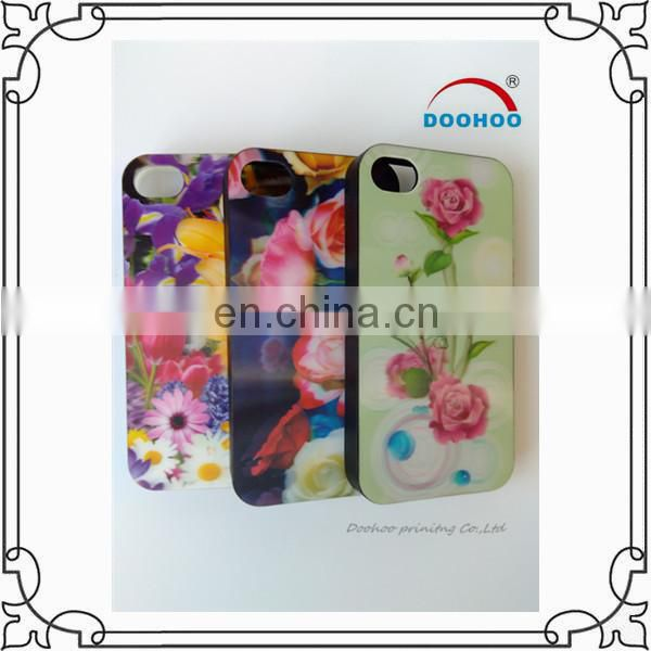 wonderful manufacturing 3D plastic phone case for iPhone 6