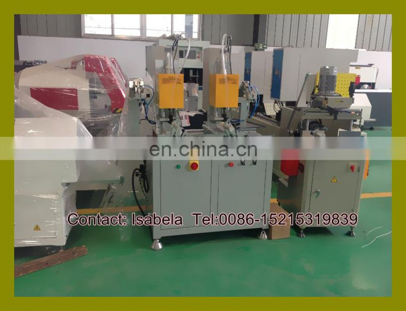 Automatic steel screw fastening machine for window/Window door fabrication machine/Plastic window door equipment