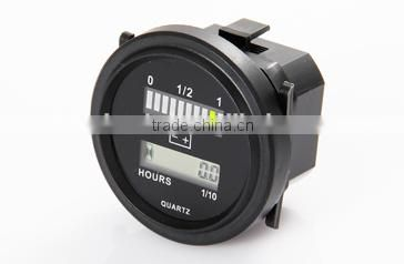 LED Voltage Meter Battery 12V Battery Indicator for Golf Cars, Golf Buggies, Motorised Golf Carts or Utility Vehicle