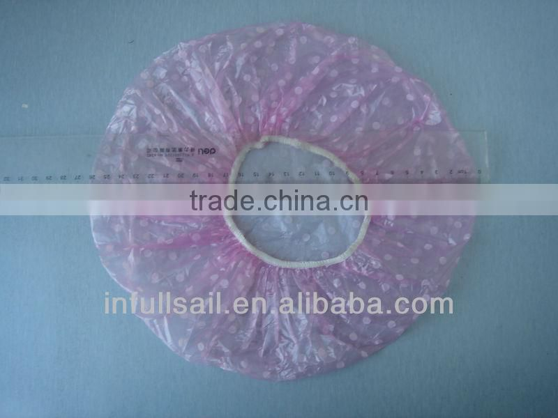 Disposable PE shower cap