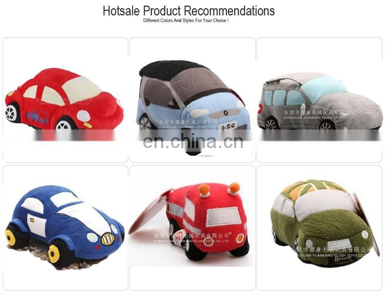Customized high quality toy mini plush car for kids