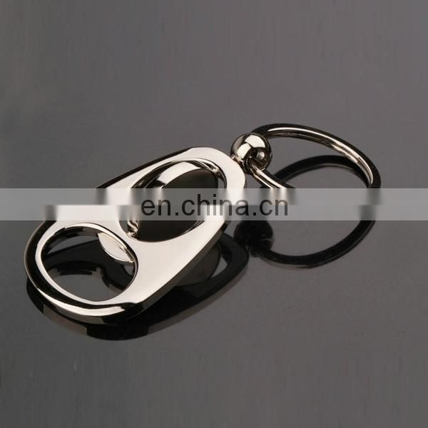 CUSTOMIZED HIGH END ALLOY SPINNING KEYRING BOTTLE OPENER