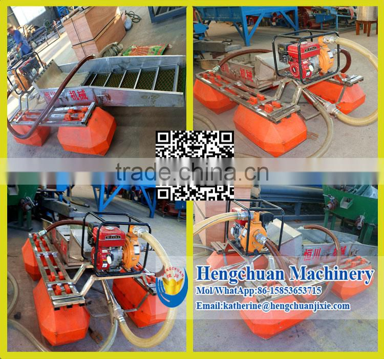 Chinese Cheap Price Double Gasoline Driven 4 Inch Keene Gold Dredge