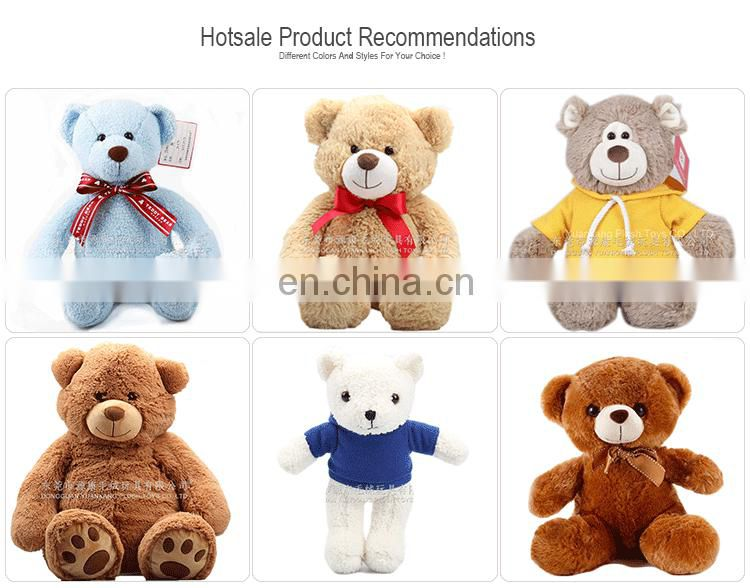 Custom Wholesale Plush Teddy Bear Factory Animal Stuffed Soft Toys Teddy Bear