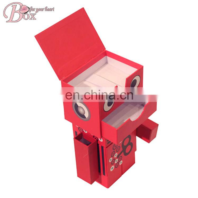 New Design Robot Shaped Storage Box Birthday Special Gift Box