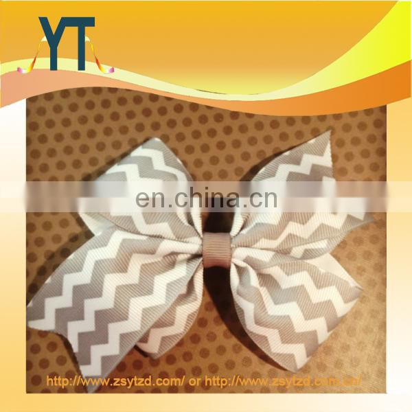 Top Grade Double Satin Big Hair Bow/Barrette/Hair Pin
