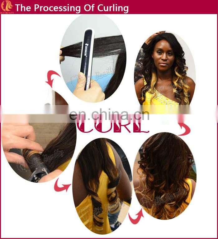Pre-bonded Hair Extension Brazilian Kinky Curly