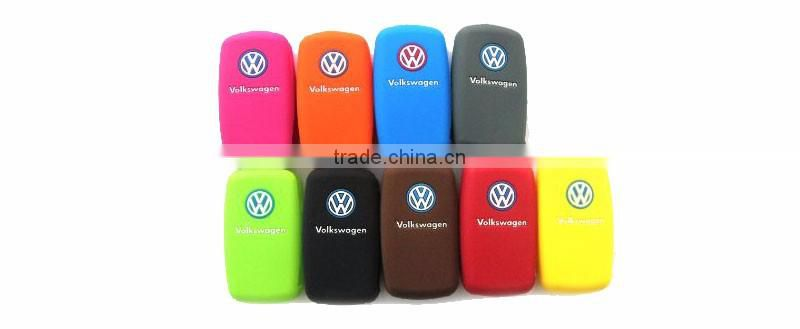 Waterproof protective silicone car key case