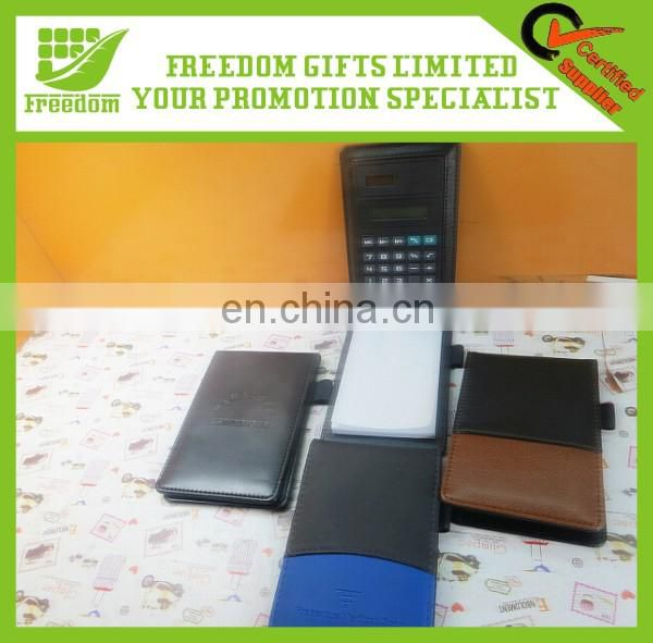 Advertising Logo Printed Custom Notebook With Calculator