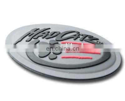 Engraved LOGO Rubber Label Custom Silicone 3D Rubber Clothing Label for Clothes, Shoes