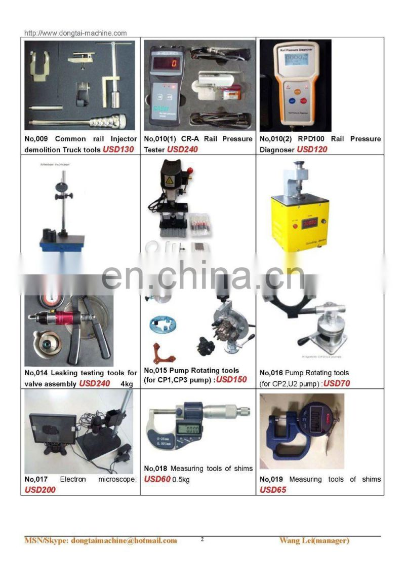 NO,027 Special puller (for D ELPHI pump valve)