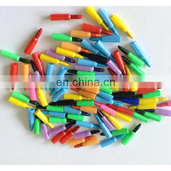 multi- crayon crayon pen 7 colors insect push crayon