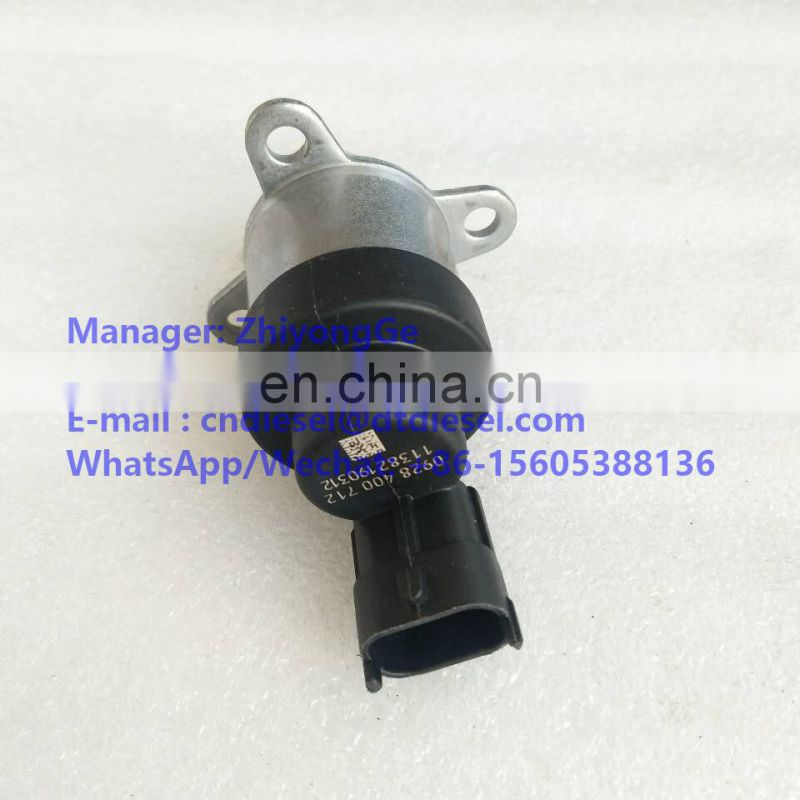 0 928 400 712  Metering Valve Unit fitted to Common Rail  CP3 Pump