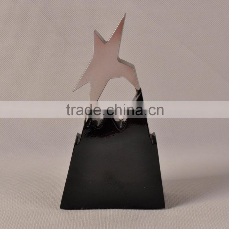 Customized star shape trophy cup