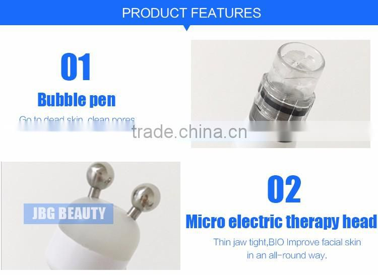 Korea Bubble 4 in 1 Water Oxygen Jet Peel + Hydro Dermabrasion Acne Scar Removal for Skin Care