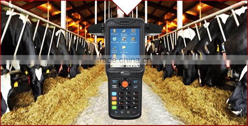 IP65 3M fall resistance quad core long range rfid reader