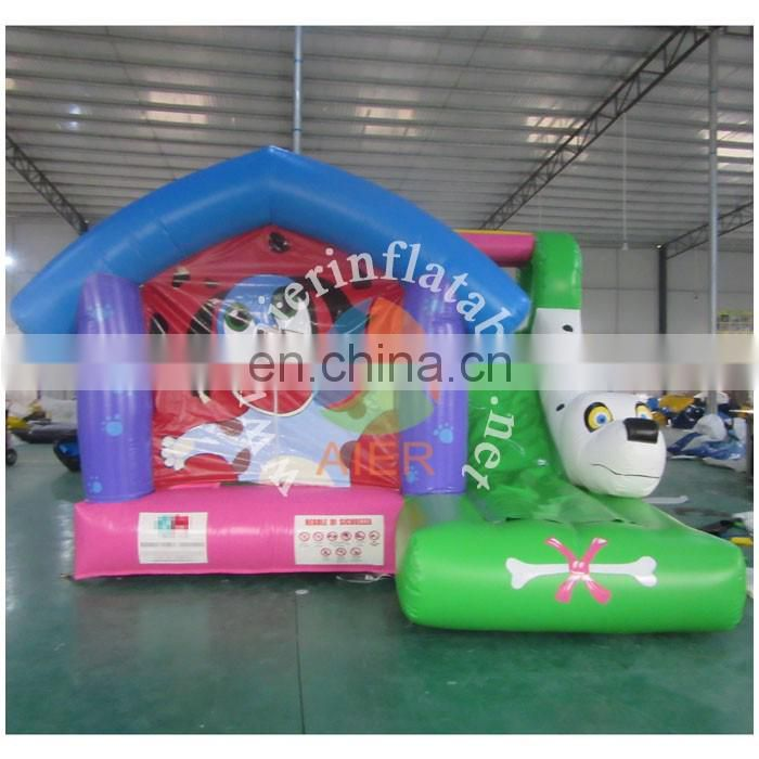 Doggy inflatable tiny bounce house