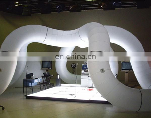 Large Inflatable Tangle with Stage for Science museum exhibition event decoration