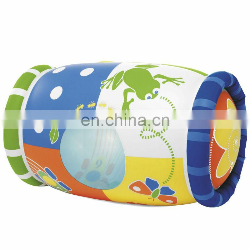2016 best selling inflatable baby roller/inflatable mucial toy roller/inflatable activity toy roller