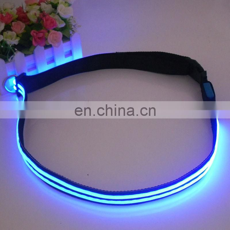 Best Gifts Led Reflective belt flashing waistband for walk dog