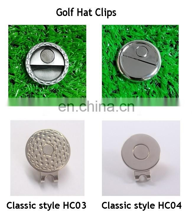 2016 bulk wholesale cheap custom made golf magnetic hat clip golf ball marker