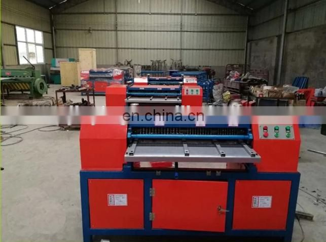 Radiator fin copper aluminum separator/scrap copper recycling machine