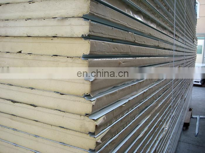 Specializing in the production of insulated sandwich roof panel