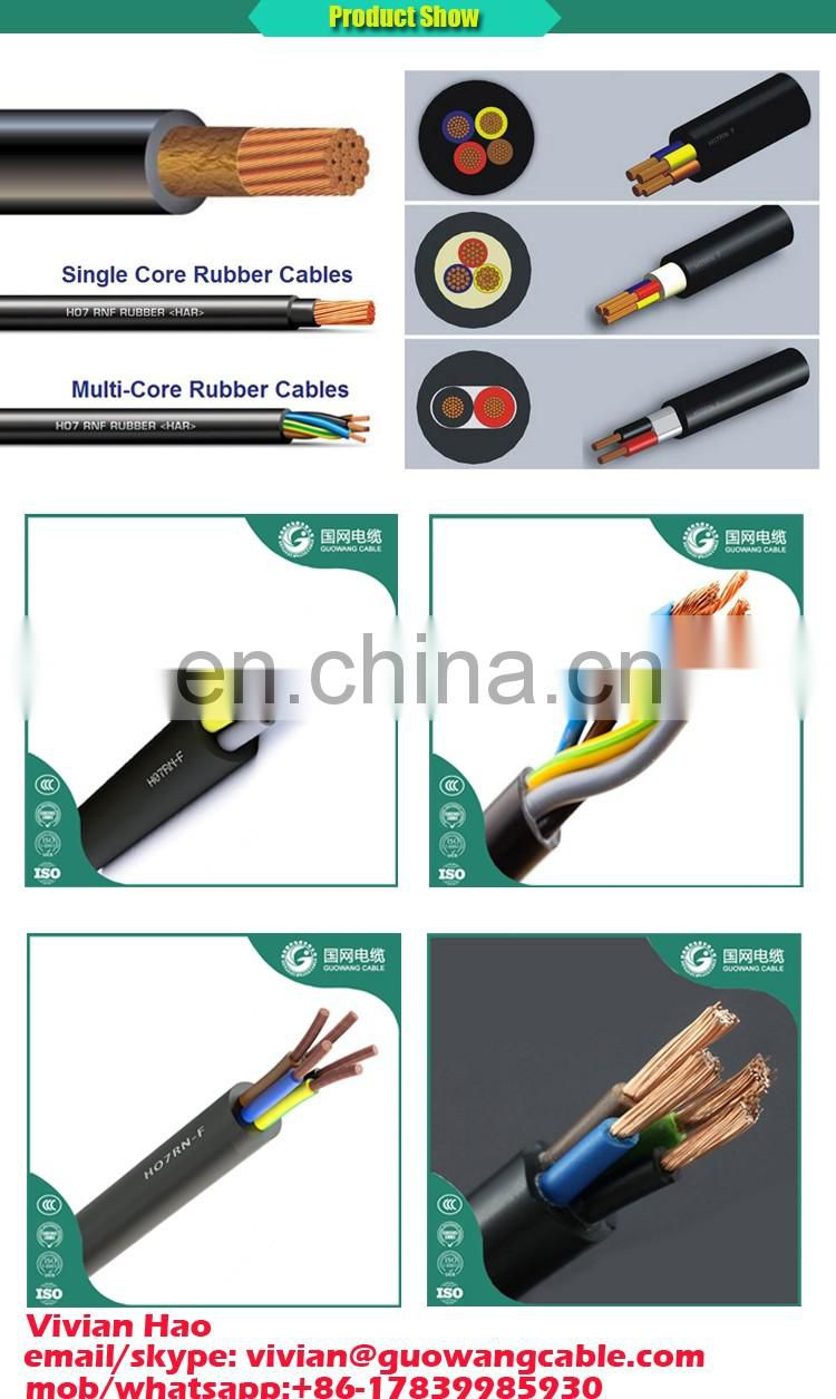 Refrigerant Recovery Machine 450/750V Flexible Rubber Sheathed Cables 4 Core 2.5mm H07rn-F Wholesale IEC Standard Philippine