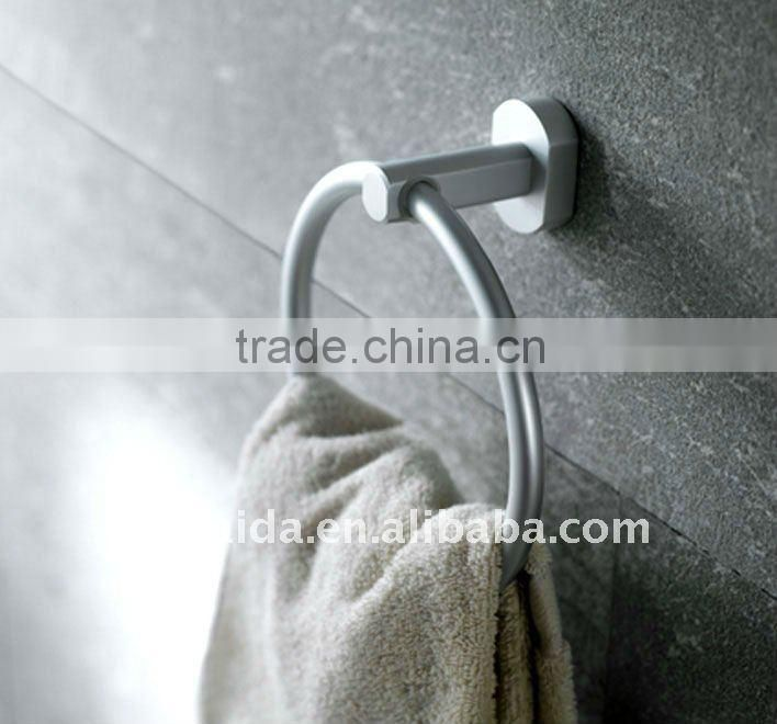 Aluminium bathroom accessories --Clothes hook, trumbler holer,towel ring,paper holder, towel rack,soap holder,glass shelf