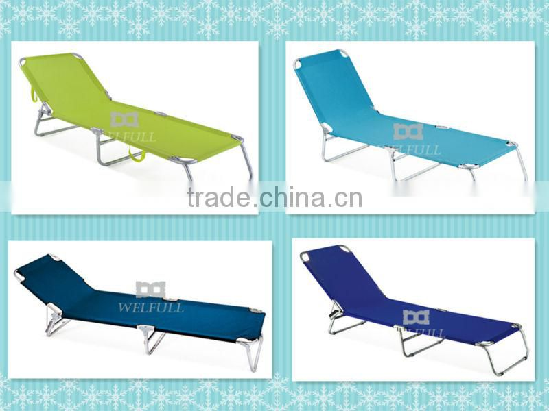 Unique bech folding chair sun shade bed