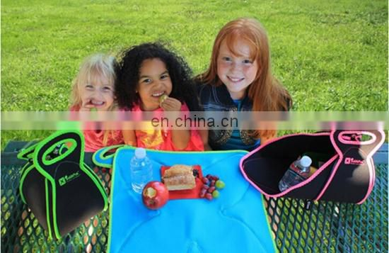 neoprene picnic bag unfolded multi-functional bag