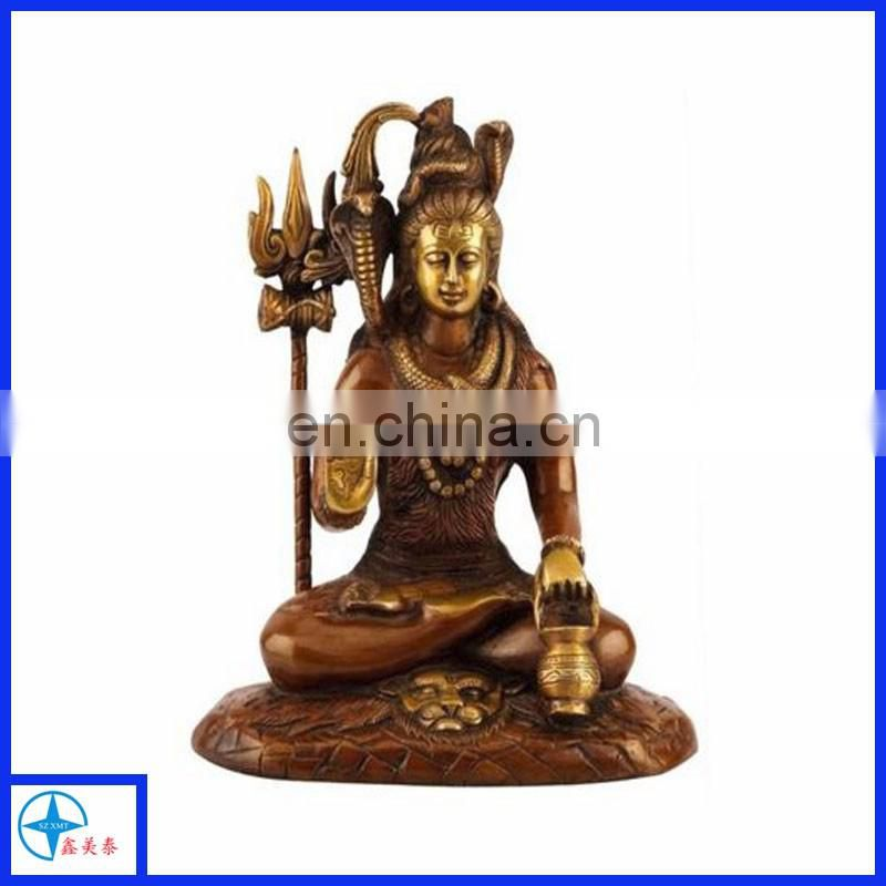 Hot sale Hand Carved Hindu Goddess Resin Sculpture Statue