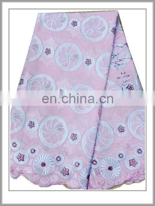 swiss cotton voile lace(CH067C)