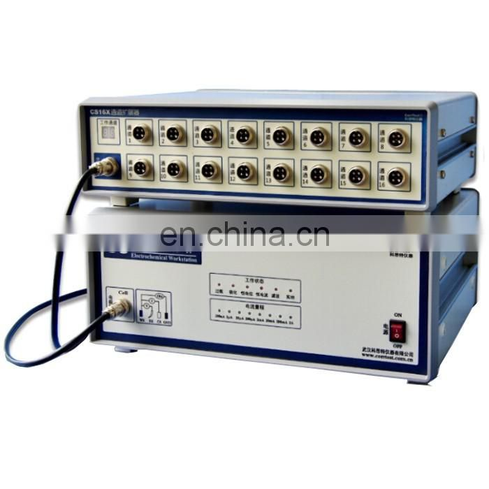 CS350/CS16X combination multi-channel potentiostat/galvanostat /electrochemical workstation