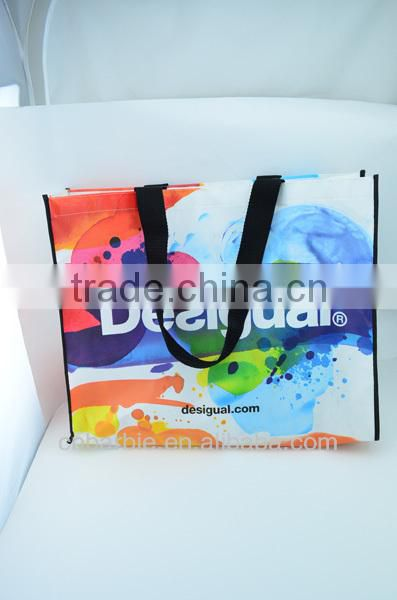 Eco friendly non woven shopping tote bag for carrier