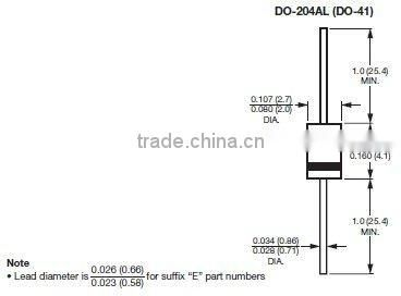 mic 1n4003 alternator rectifier diode