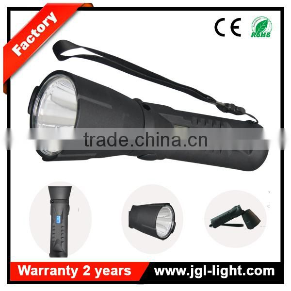 led rechargeable Area industrial safety flashlight portable rotating magnet military 5JG-9915