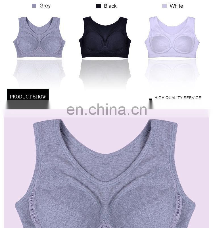 China Wholesale Breathable Thin Sex Woman Sports Cotton Bra