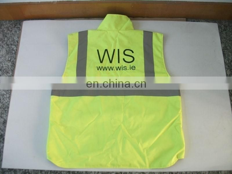 High Reflective Safety Jacket/Coat/Vest With Polar Fleece
