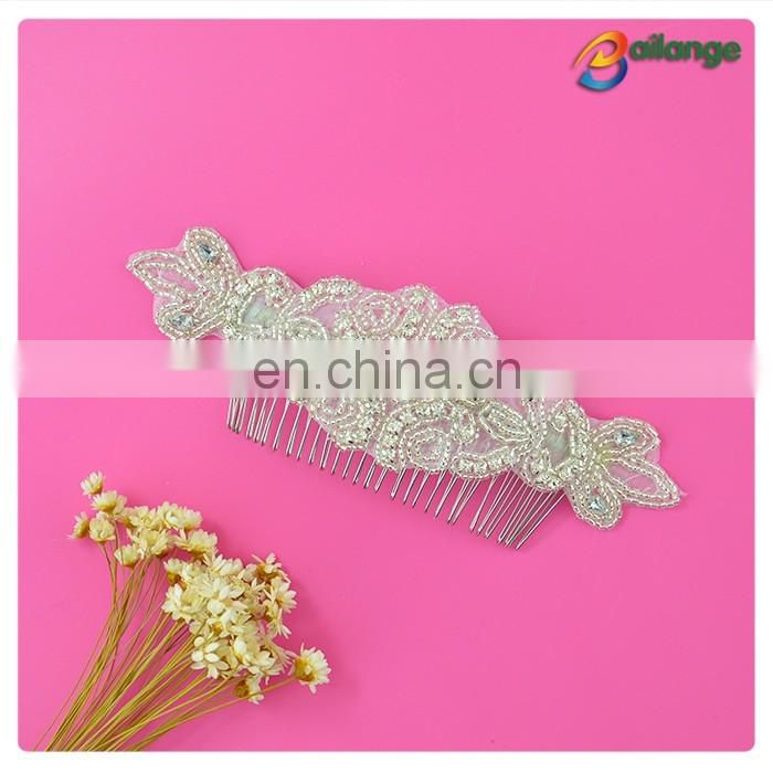 2016 wholesale bridal hair comb with crystals bridal headband bridal headpiece