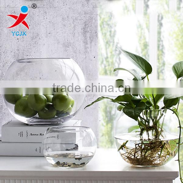 Transparent round /sitting room/aquarium/meat plants produced the ecological bottle container/fishnet