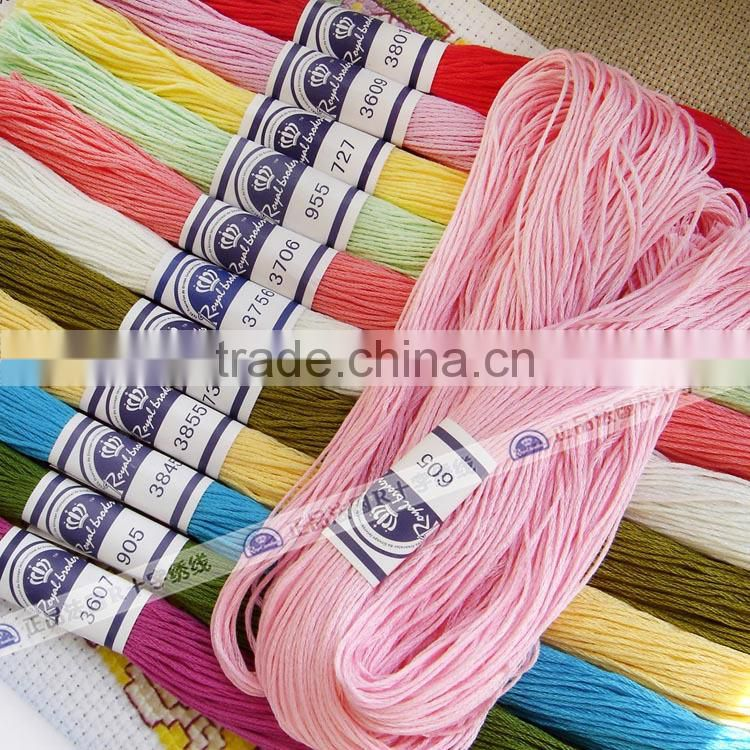 Hand Embroidery Dmc Cotton Threads Cross Stitch Embroidery Thread Of