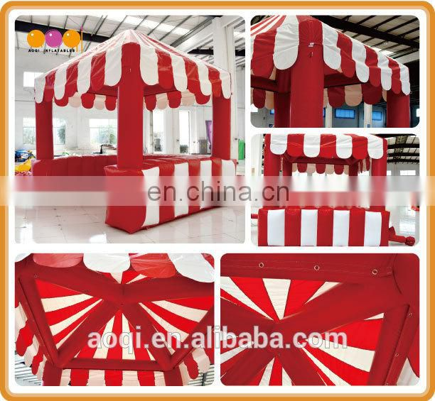 2015 AOQI mini sewn inflatable booth tent for trade show for sale