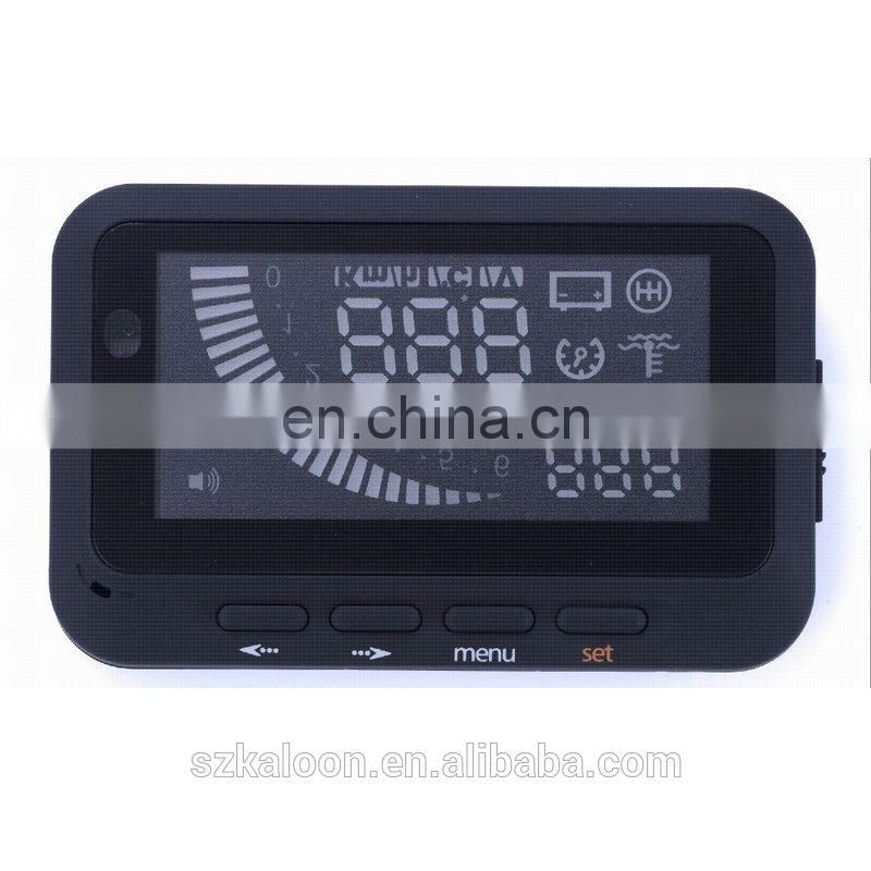 2014 New F01 car head up display window display monitor speed alarm
