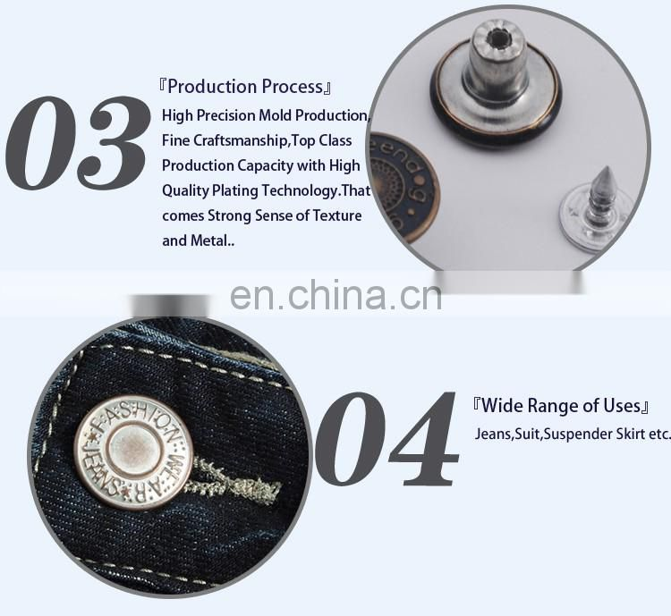 Metal Button,Custom Jean Buttons BM1691