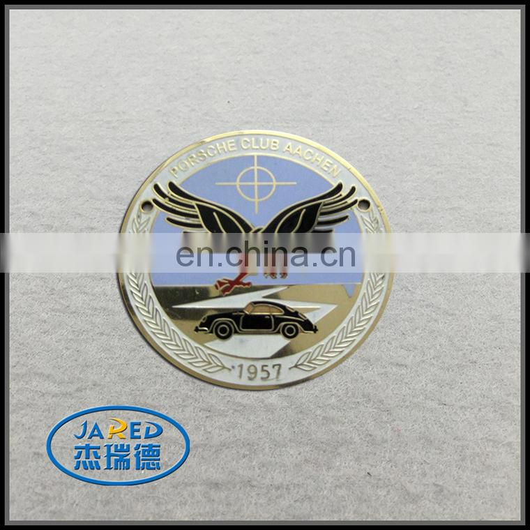 Grille Logo Emblem Badge with Your Own Design