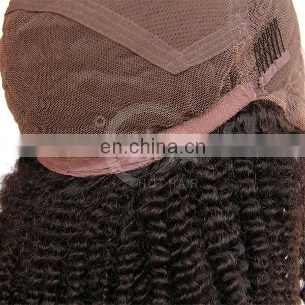 High quality most popular silk top aaaaa human hair full lace wig black women
